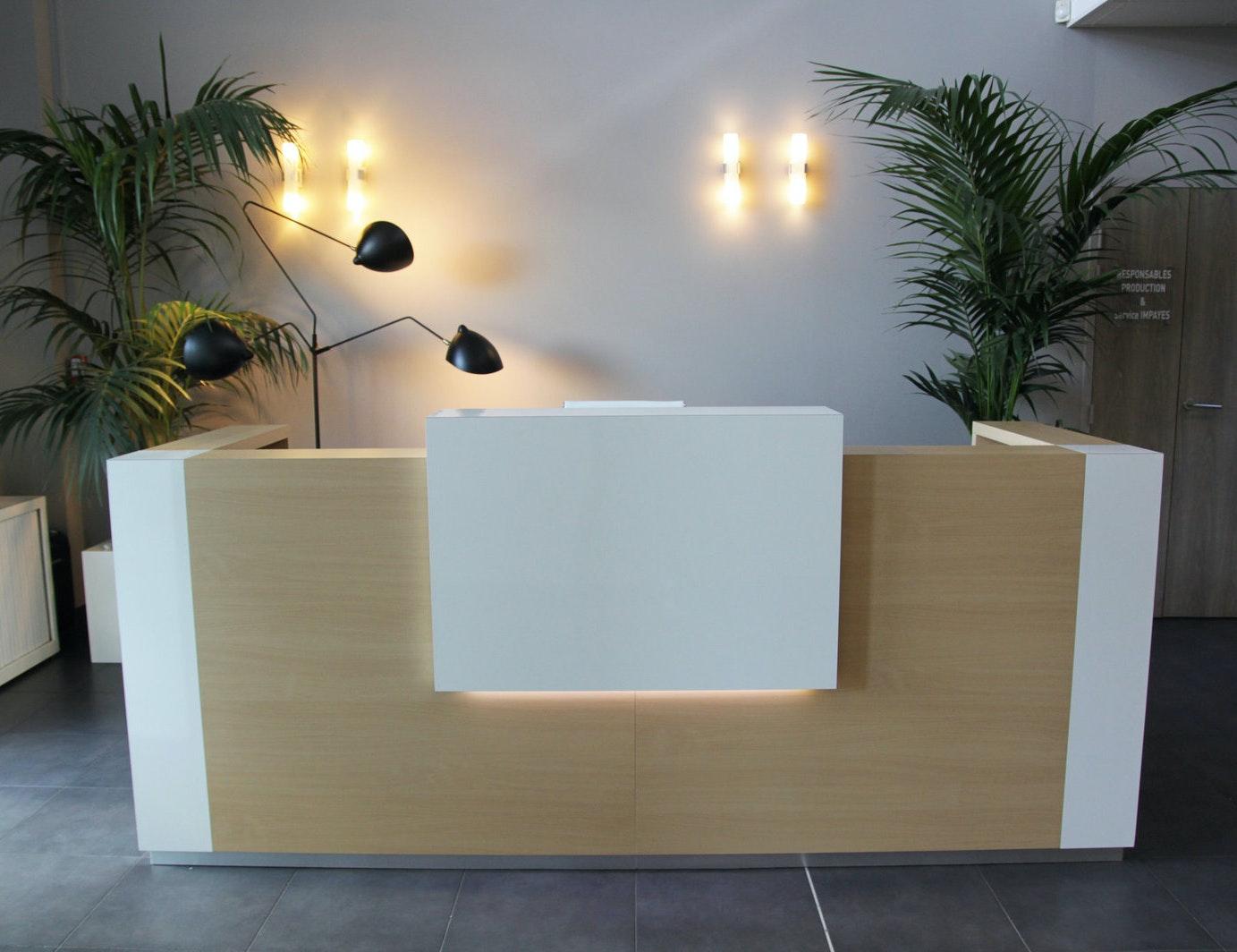 photo Réaménagement d'un espace d'acceuil Ateliers kumQuat