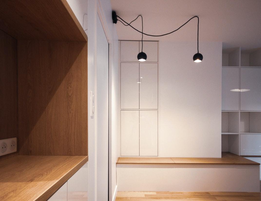 photo Rénovation complète d'un studio Ateliers kumQuat