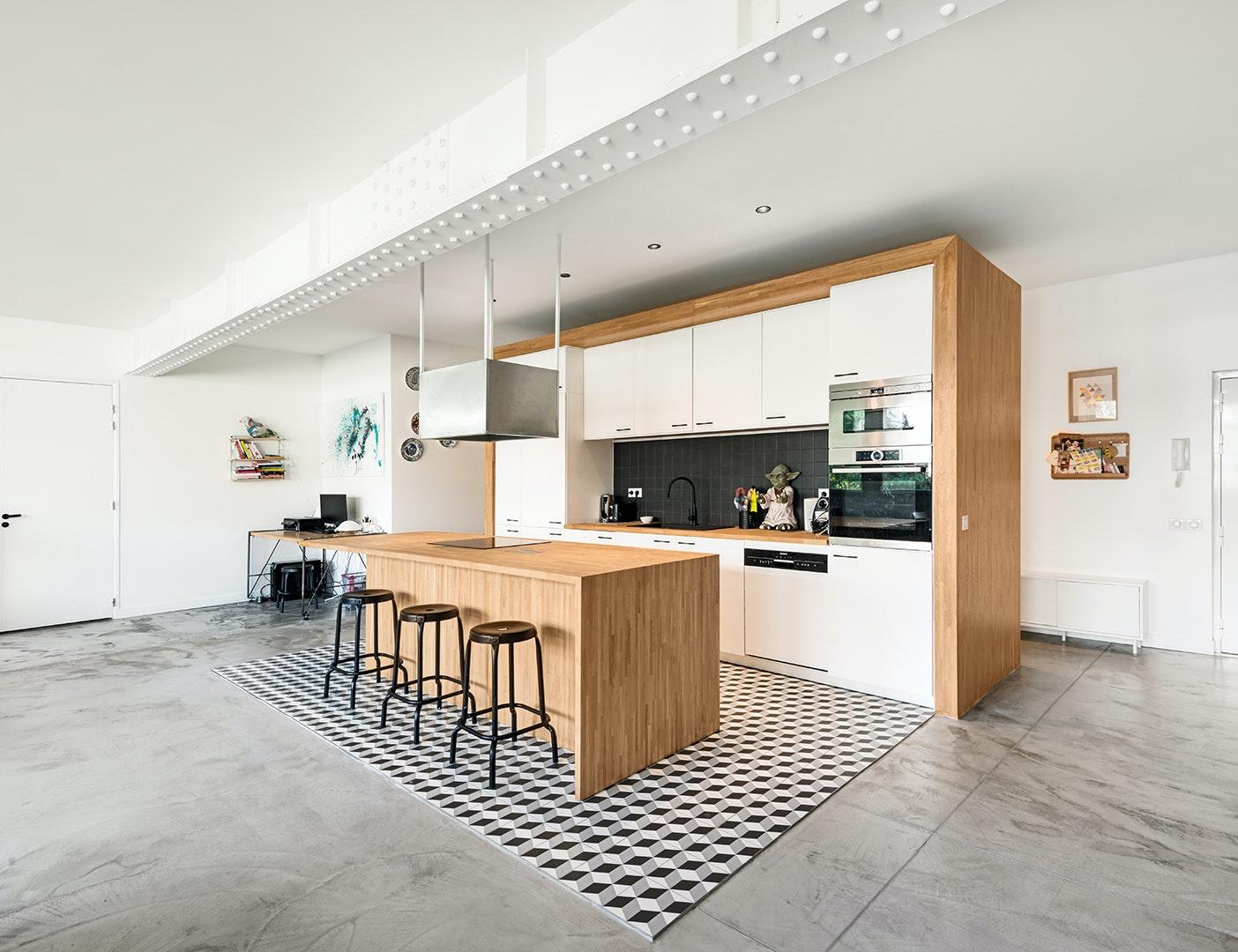 photo Réhabilitation d'un loft de 144m2 Berger Potit Architecture