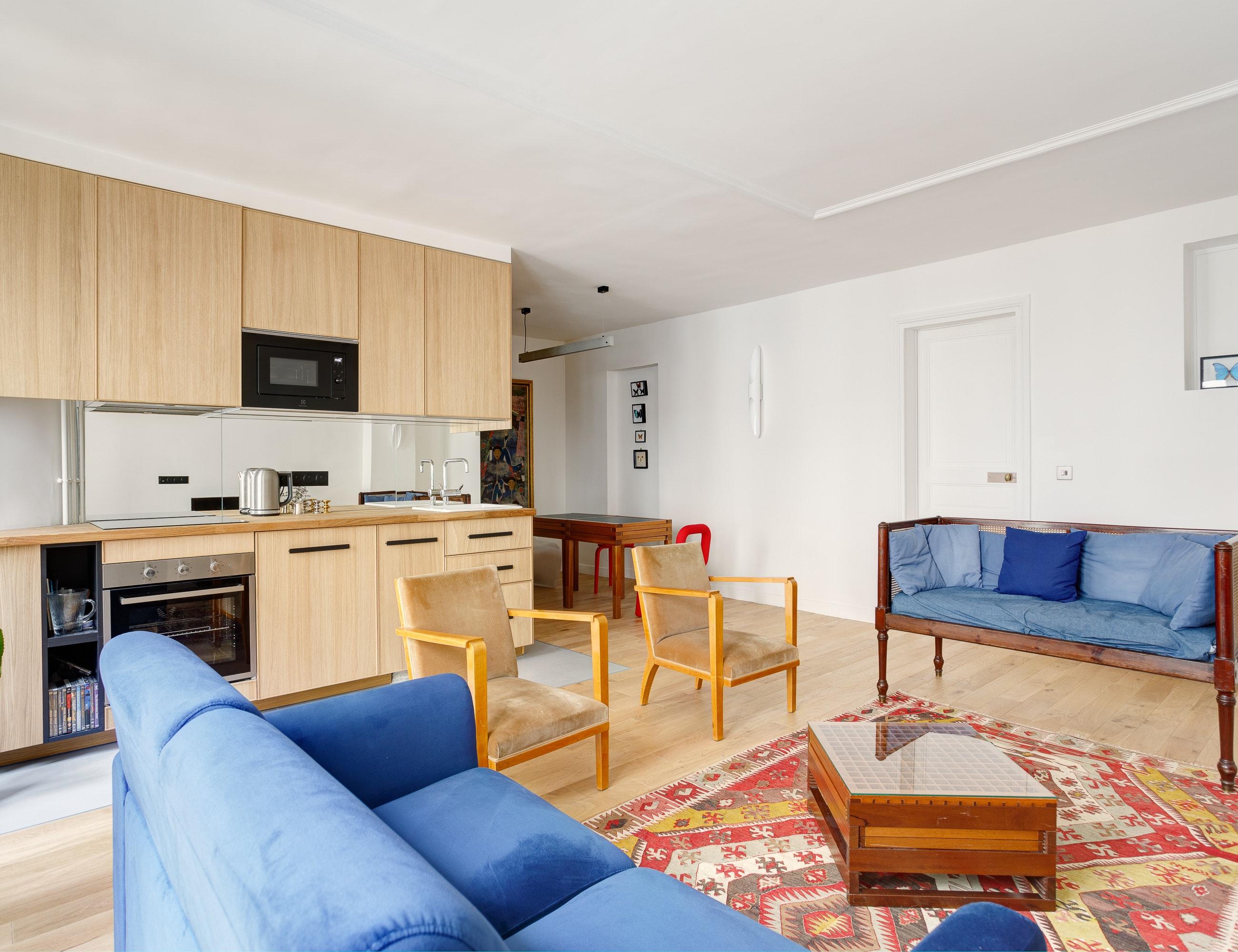 photo Rénovation d'appartement - Rue Lacharière BVJ Rénovation