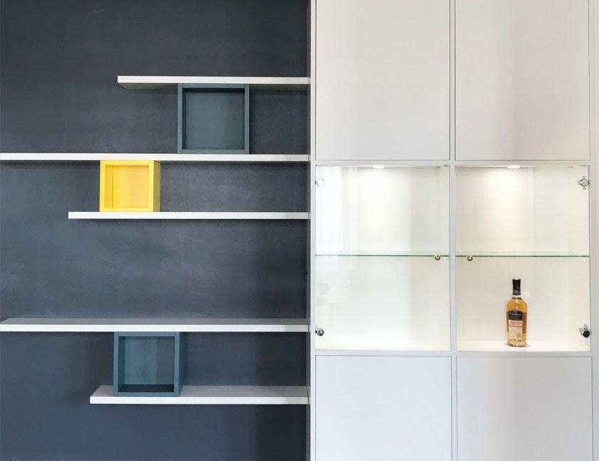 photo Bibliothèques sur-mesure  Kea-studio