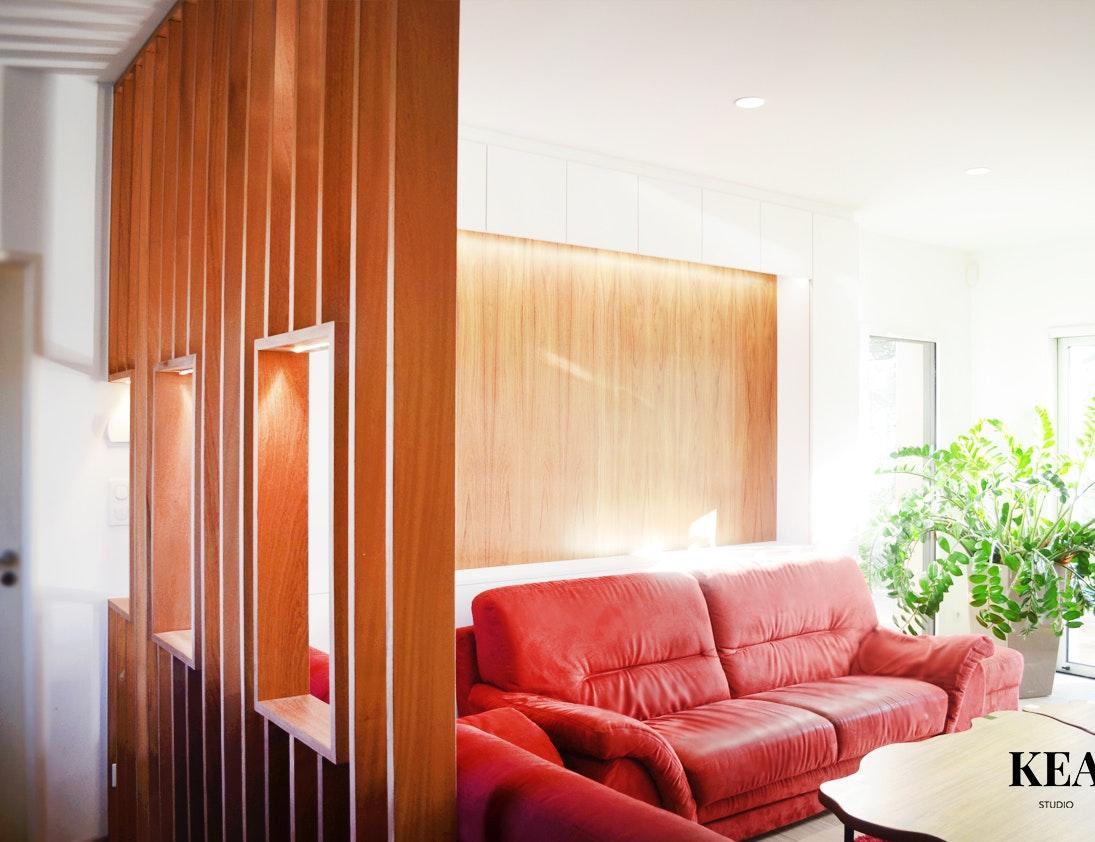 photo Le Bora Bora : Rénovation complète d'un appartement Kea-studio