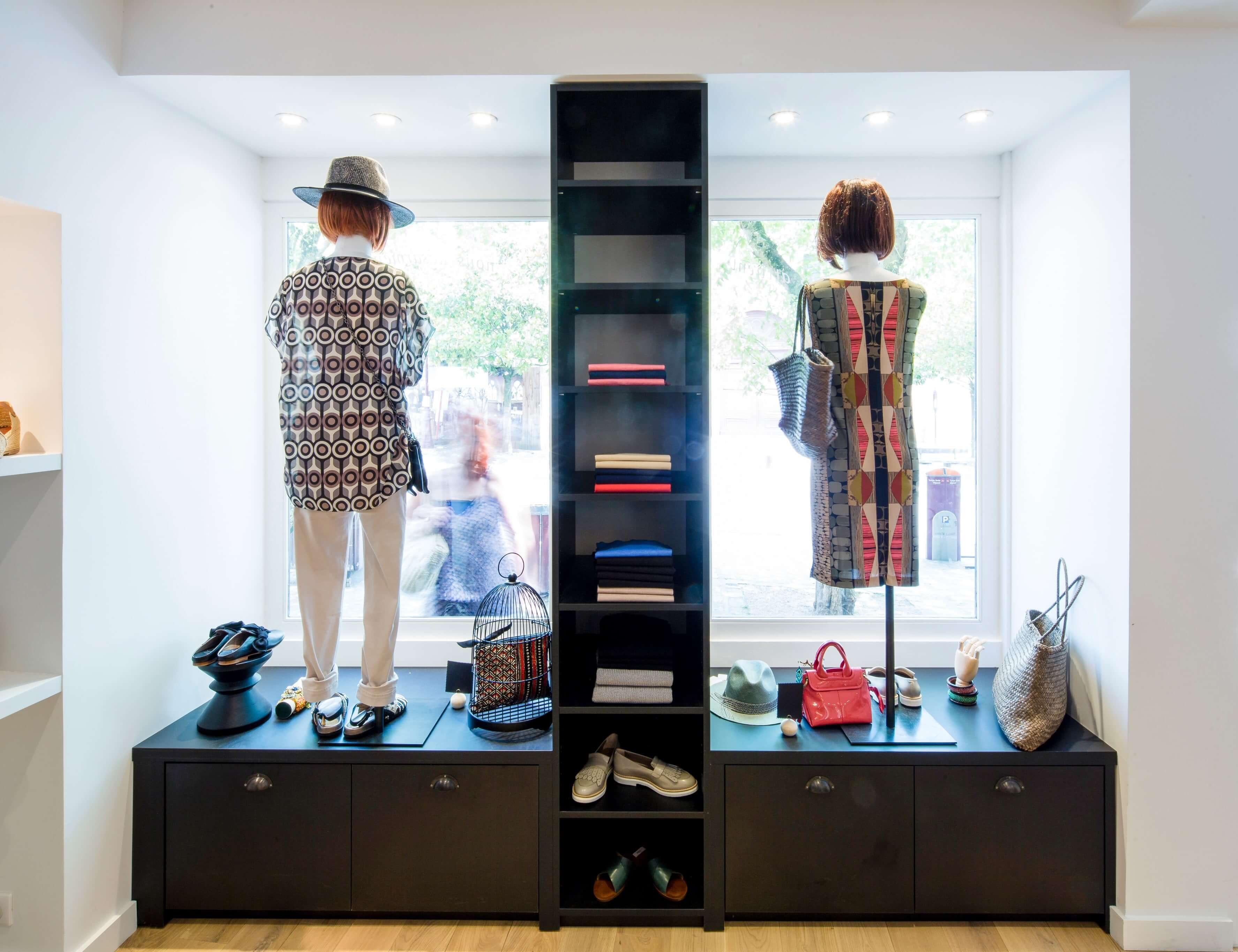 photo Rénovation et agrandissement d'une boutique Galathée Label 3d