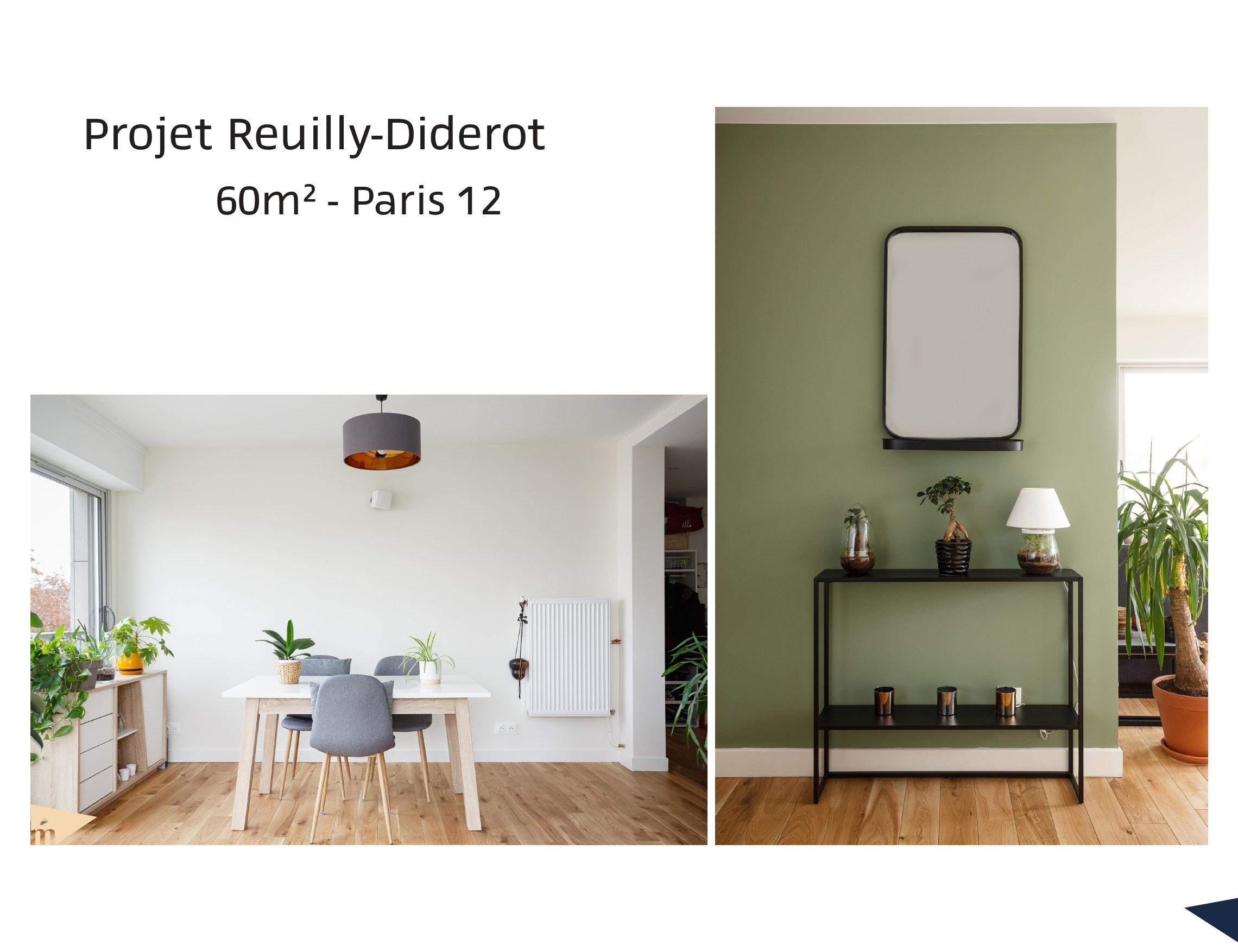 photo Projet Reuilly-Diderot - 60m² - Paris 12 Léa Mast - Architecte hemea