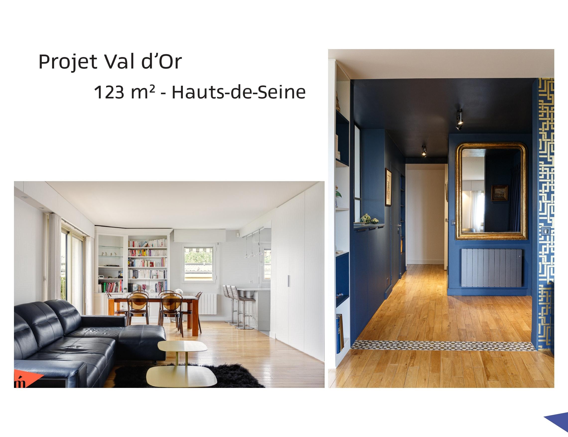 photo Projet Val d'Or - 123m² - Hauts-de-Seine Léa Mast - Architecte hemea
