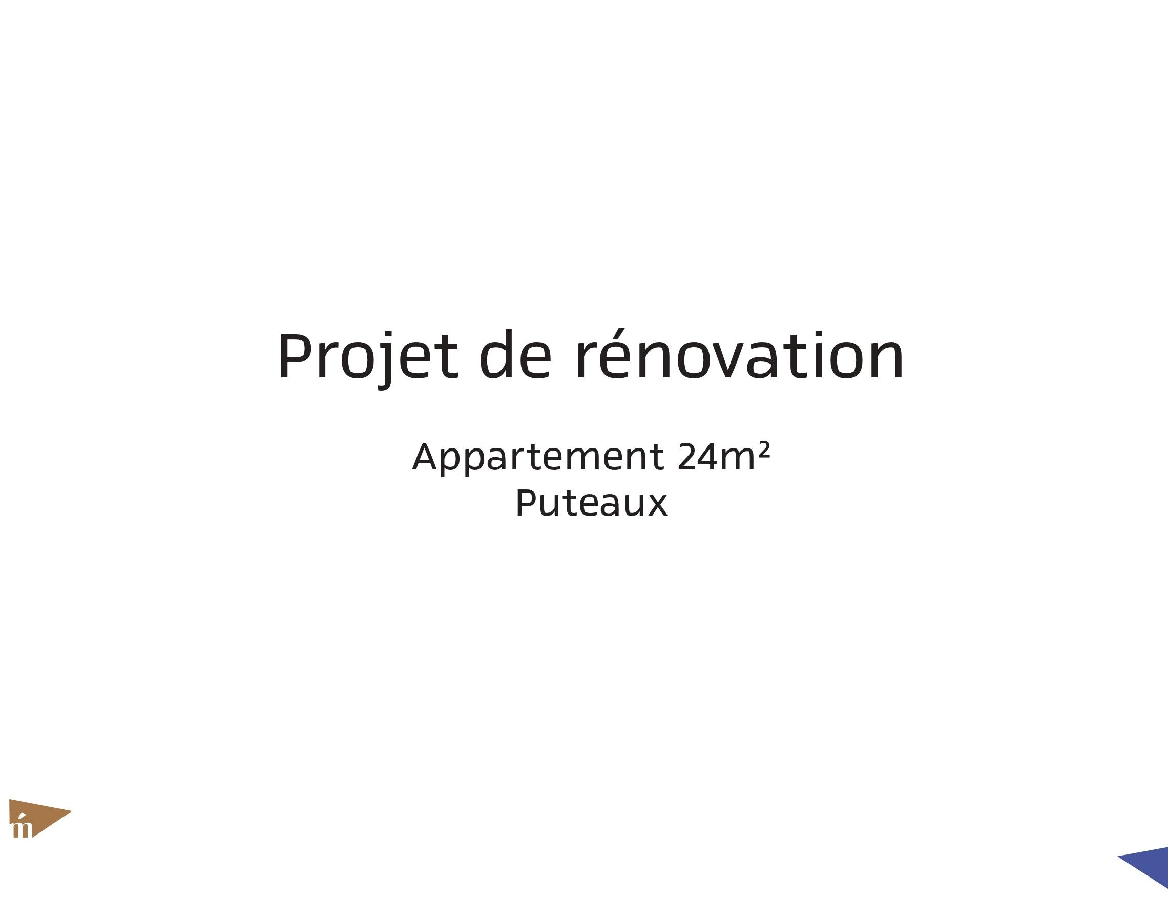 photo Projet rue Voltaire - 24 m² - Puteaux Léa Mast - Architecte hemea