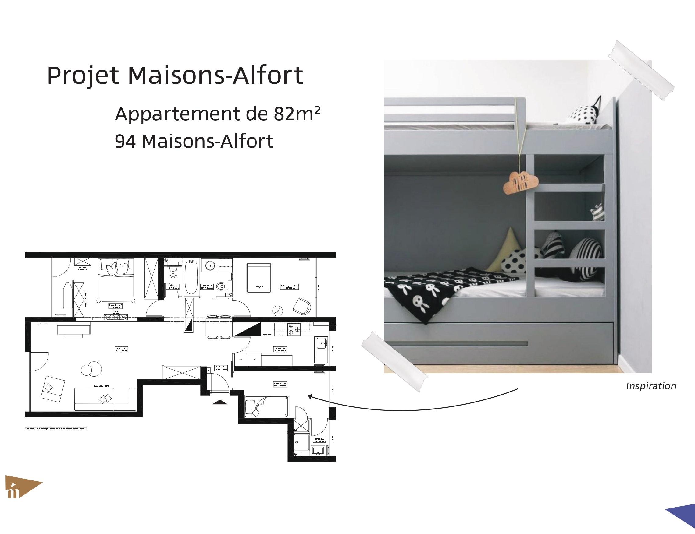 photo Projet Maisons-Alfort - T4 - 82 m² Léa Mast - Architecte hemea