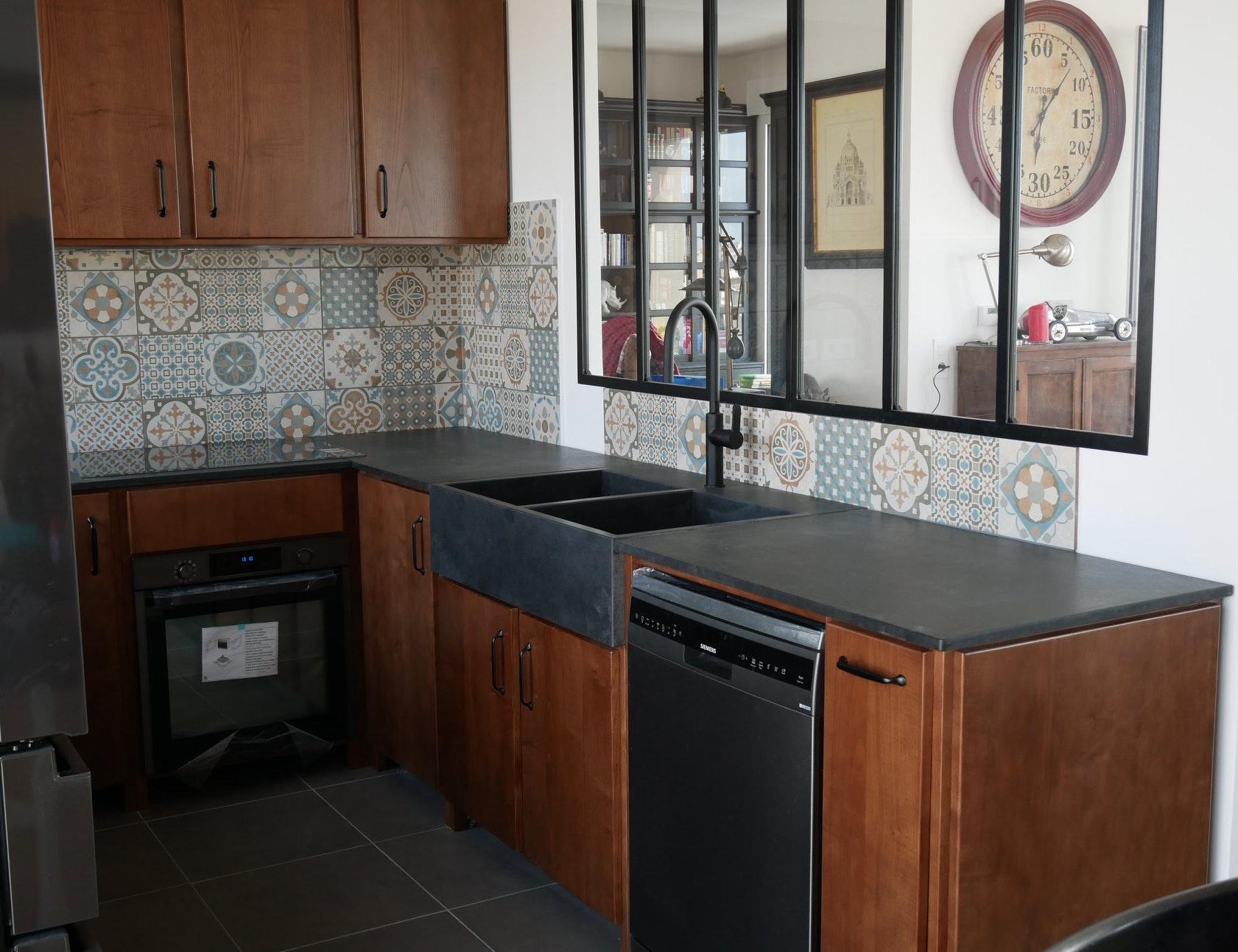 photo Conception et réalisation d'une cuisine sur mesure Leopold Consultant