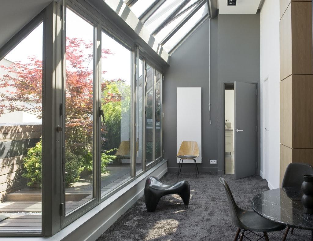 photo Parc Royal : Rénovation appartement-terrasse Logarchitecture