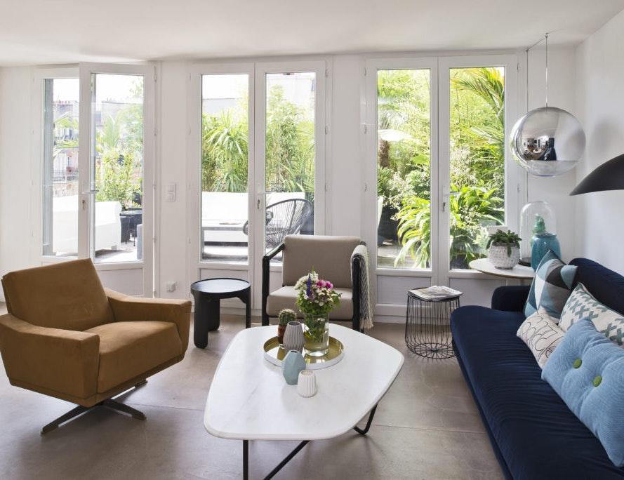 photo Rénovation d'un appartement-terrassede 150m2 à Montmartre Logarchitecture