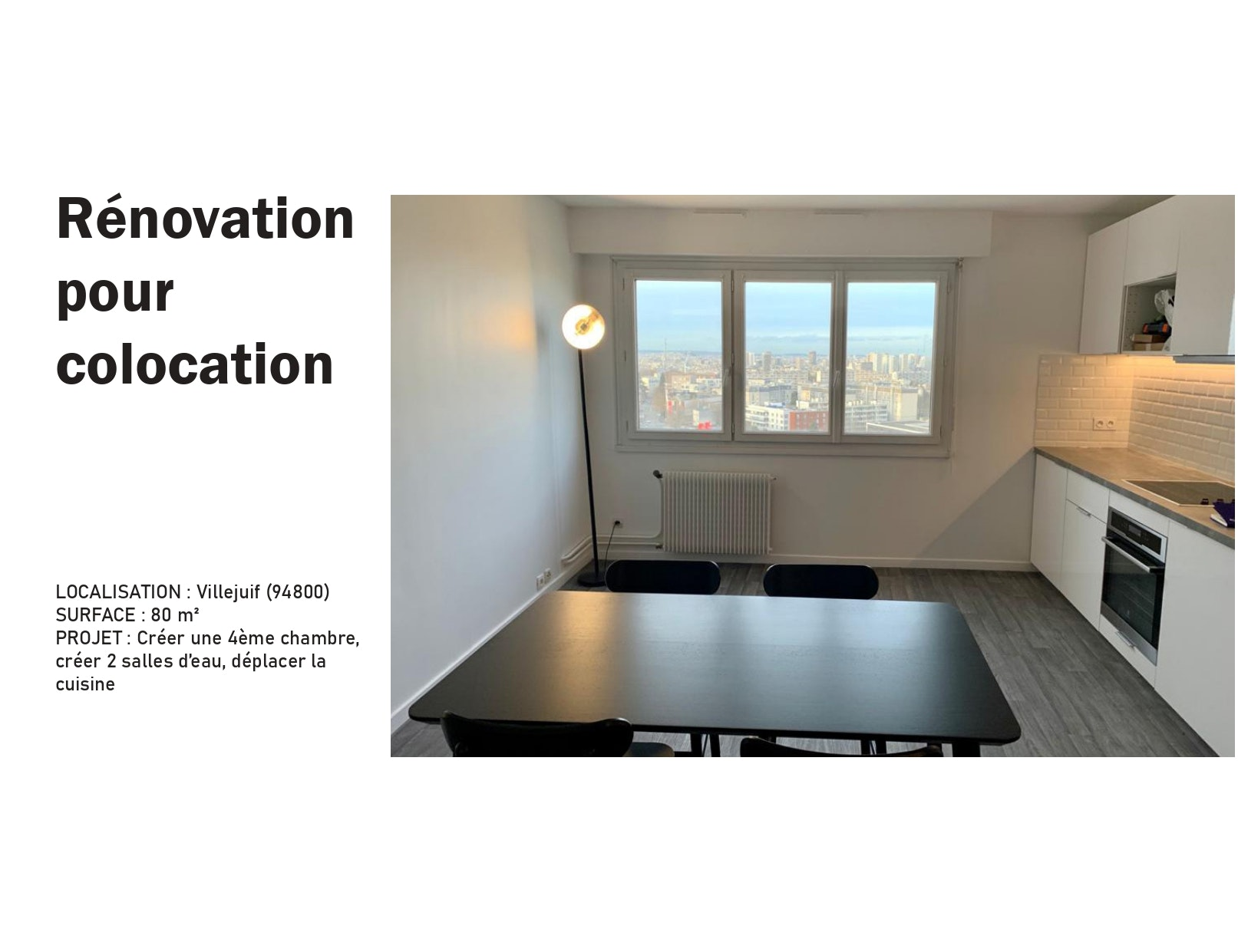 photo Rénovation pour colocation Manon Le Gall - Architecte hemea