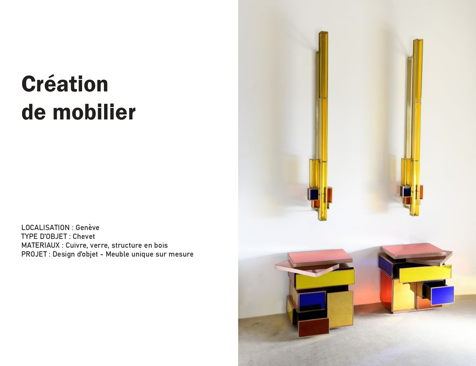 photo Création de meuble  Manon Le Gall - Architecte hemea