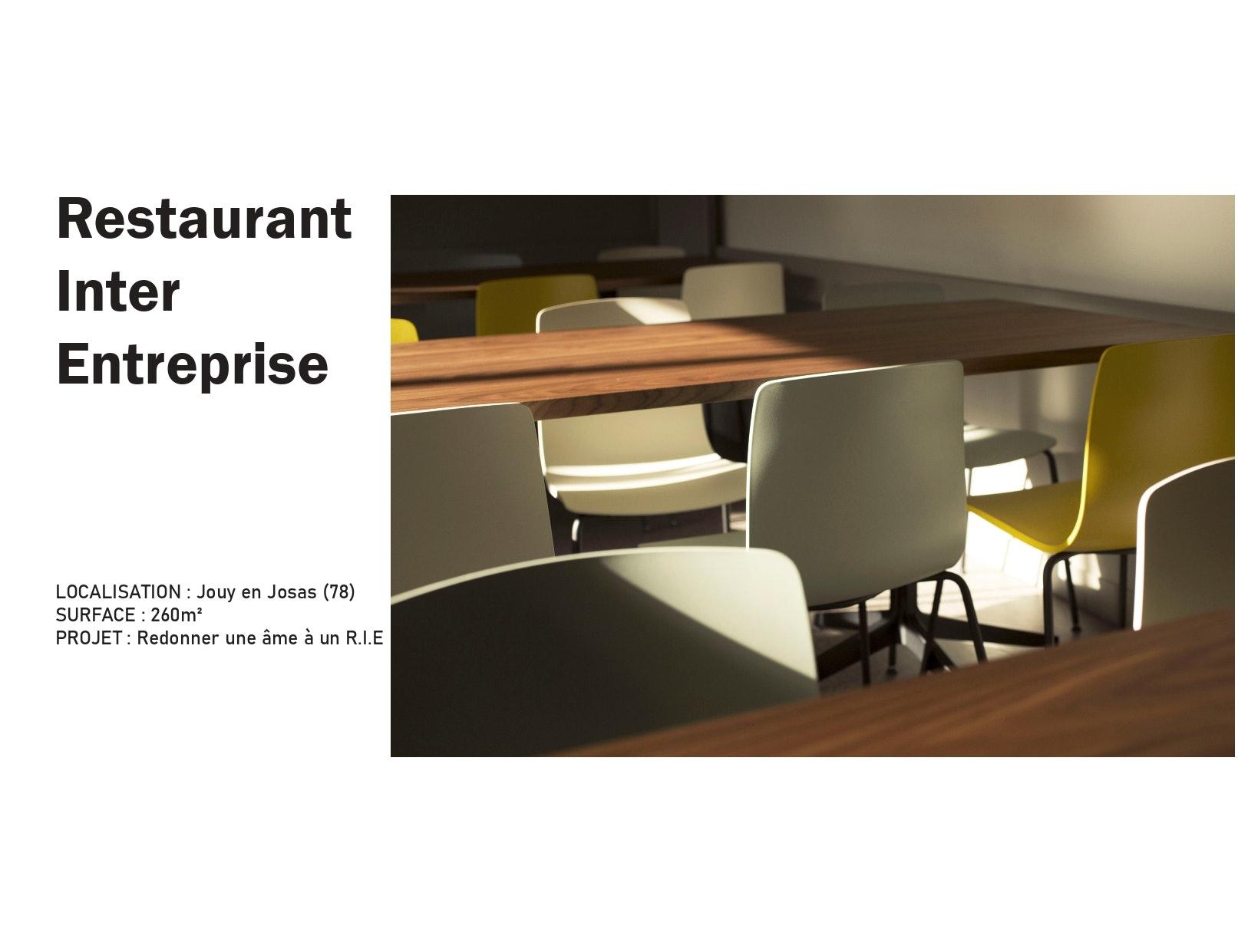 photo Restaurant Inter Entreprise Manon Le Gall - Architecte hemea