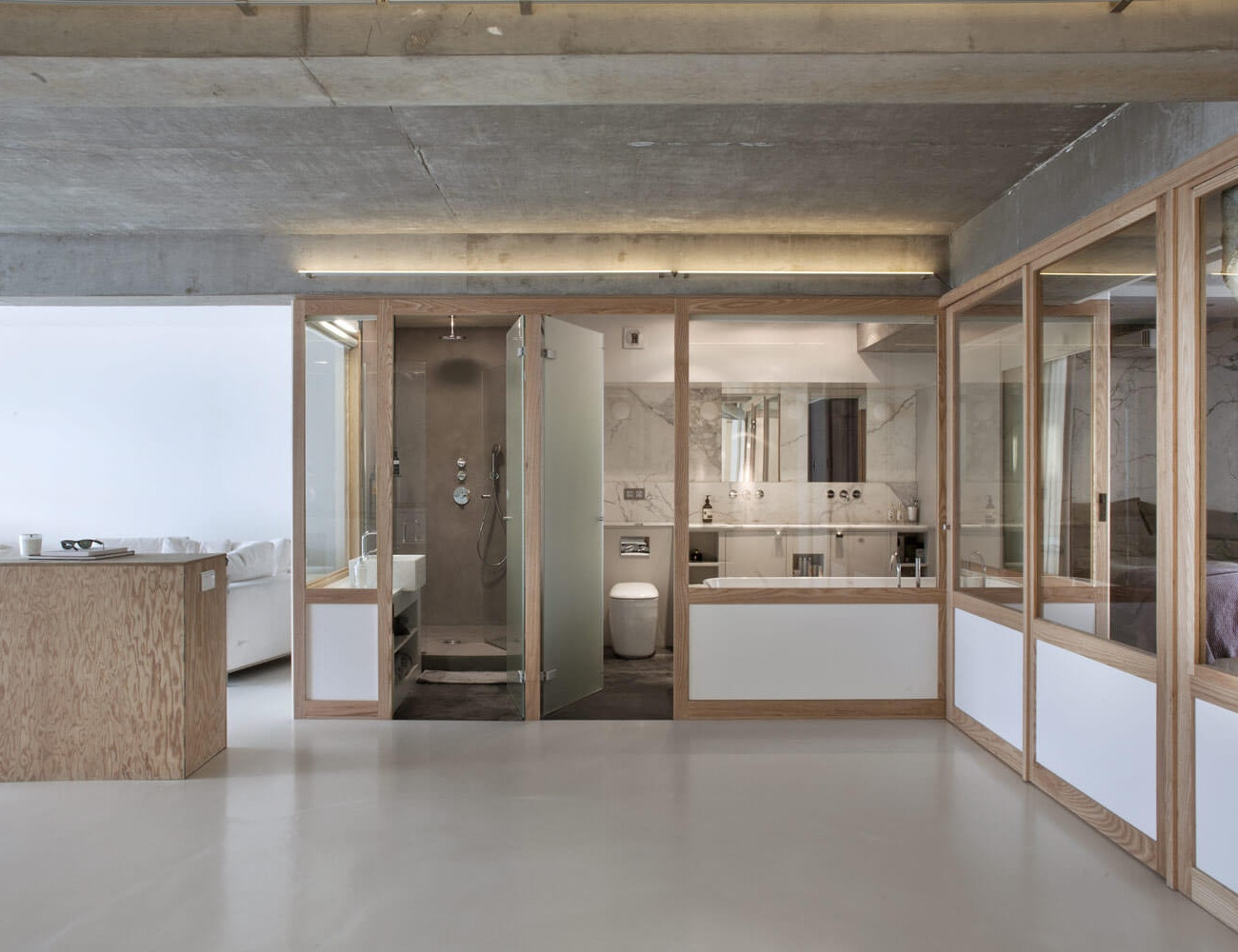 photo Rénovation d'un Loft de 136m2 à Paris Olivier Chabaud
