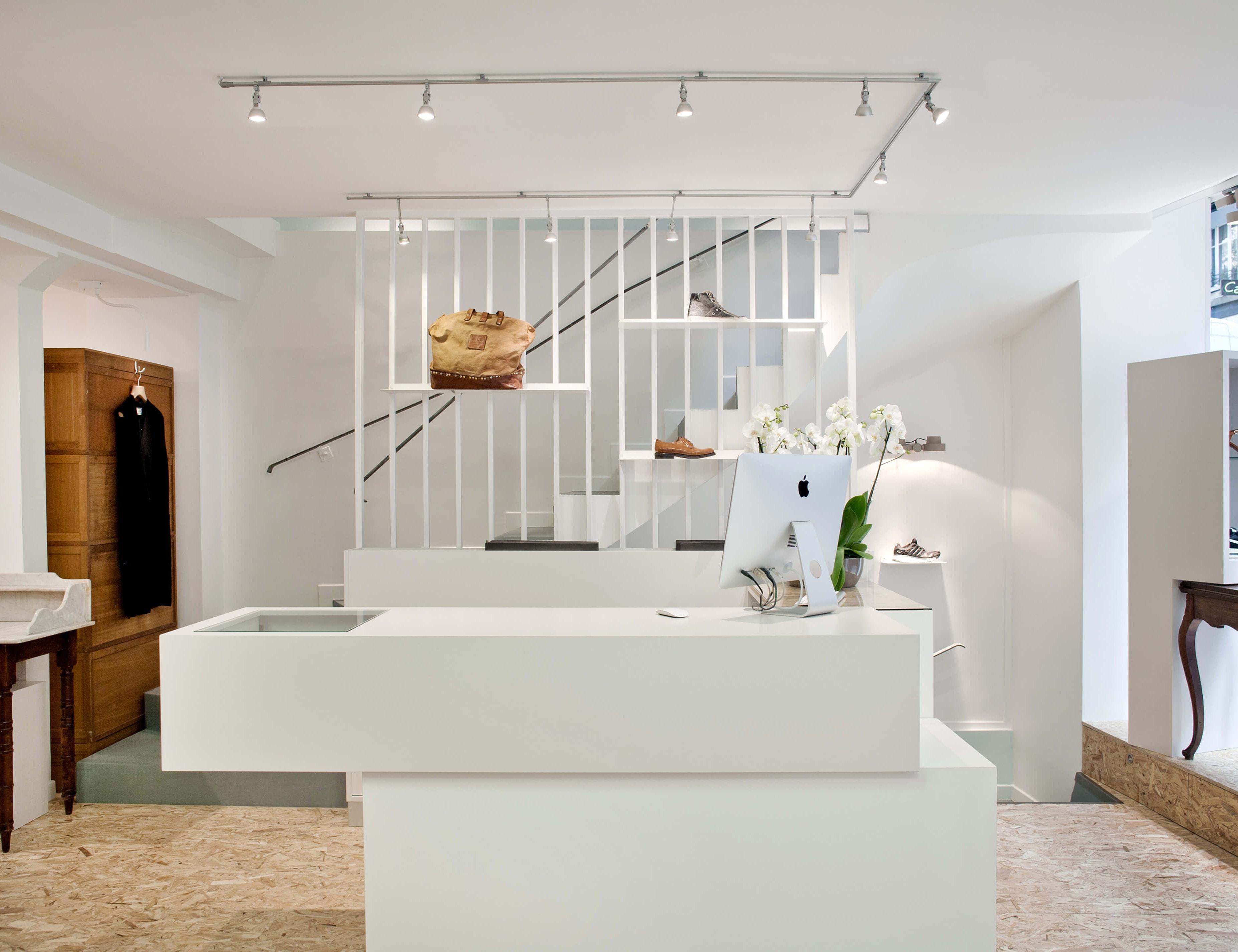 photo Restructuration et Aménagement Boutique ROXAN 120m2 Olivier Chabaud