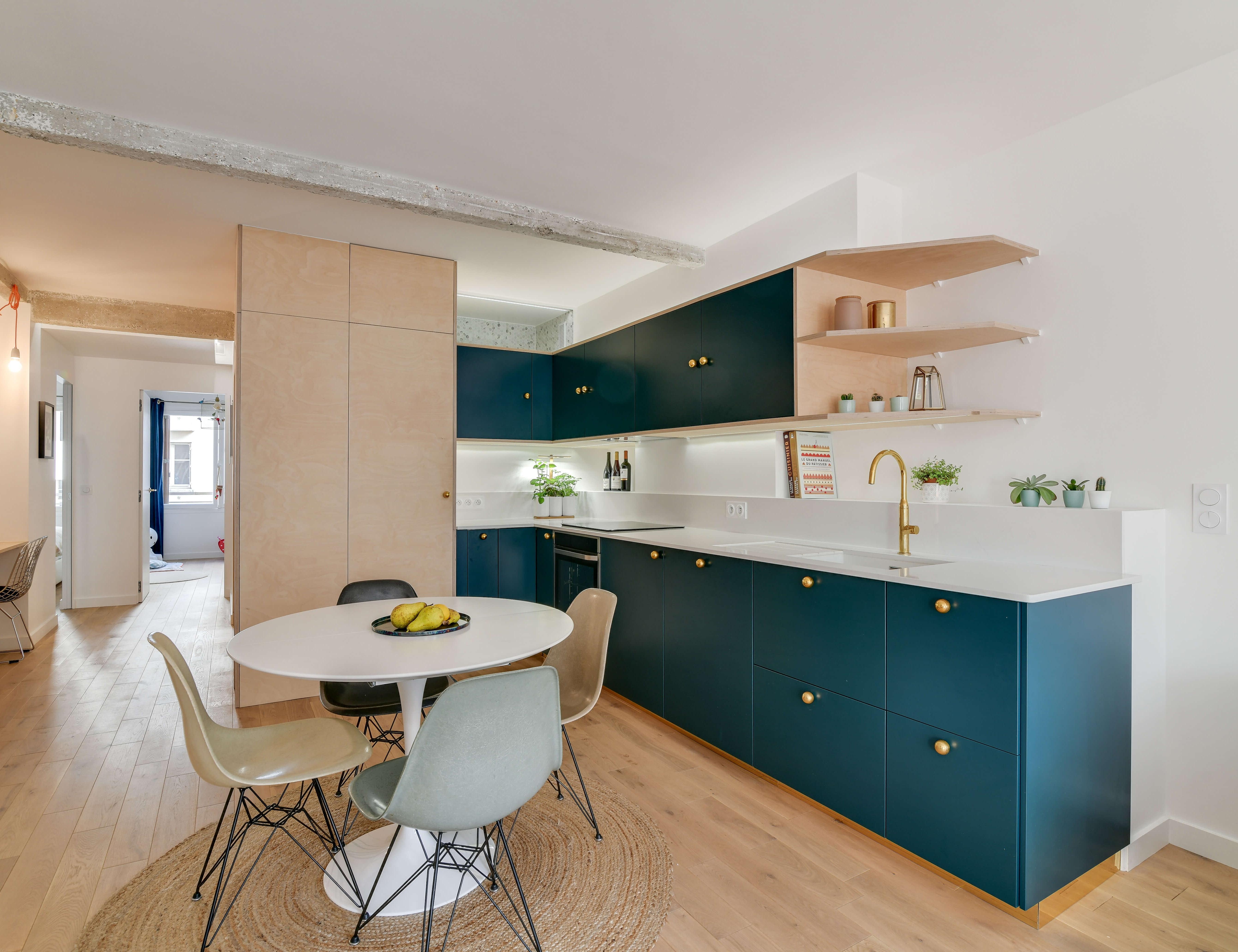 photo Rénovation appartement 65m2 Sebastien Carlier