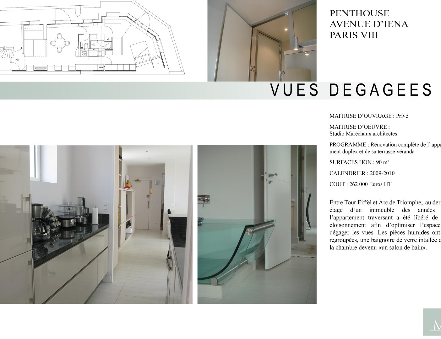 photo Rénovation appartement 90m2 Studio Marechaux