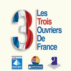 Logo Les 3 Ouvriers de France